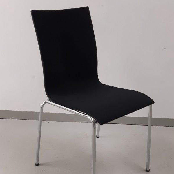 Engelbrechts Chairik 104 -tuoli, musta