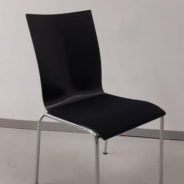 Engelbrechts Chairik 104 -tuoli, musta, verhoiltu
