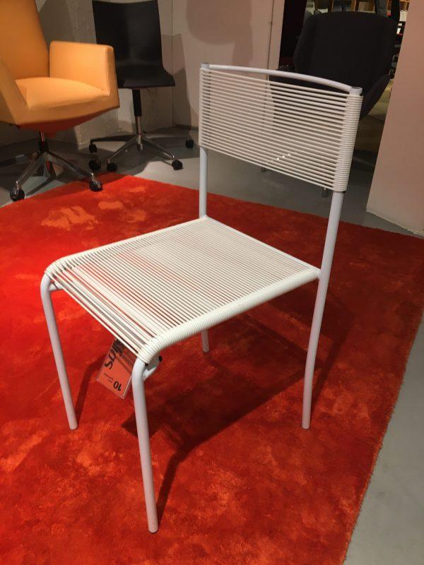 Alias spaghetti gemini -tuoli valkoinen
