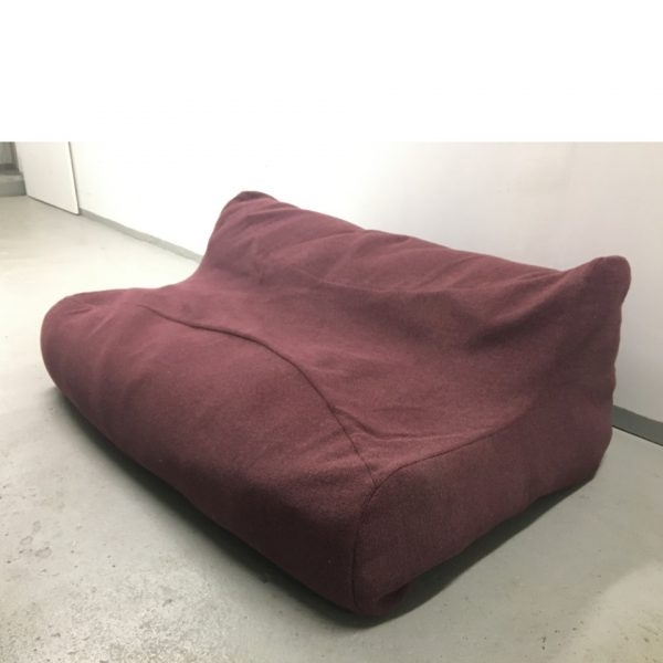 PunainenSoftline Fluid -sohva
