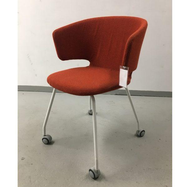 Alias taormina -tuoli punainen