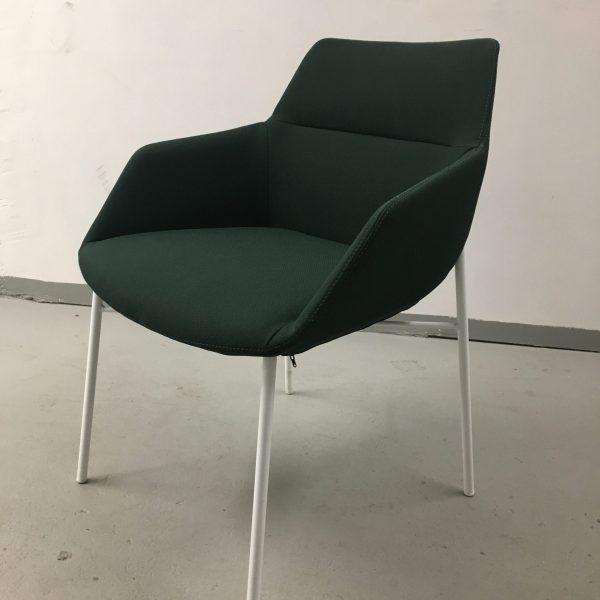 Inclass Dunas XS -tuoli, tummanvihreä