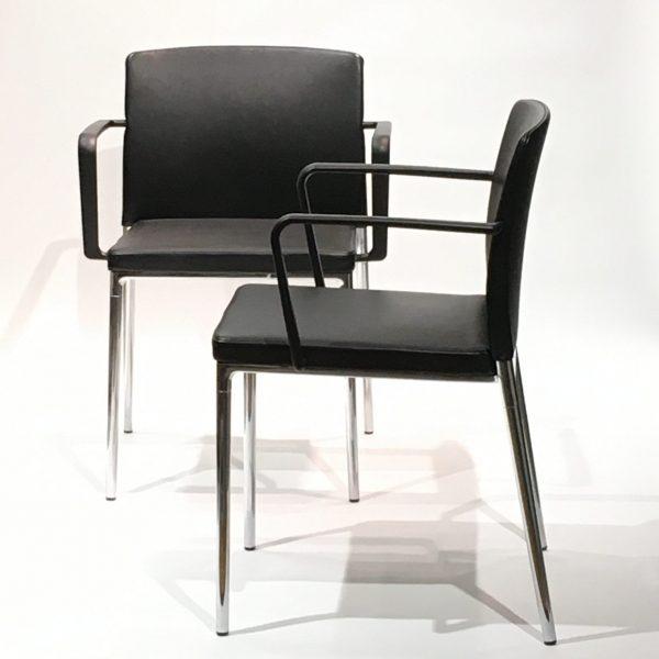 Wilkhahn Ceno -tuoli, musta