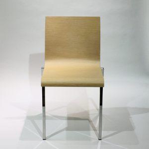 Pedrali KUADRA XL 2411 -tuoli, vaaleanruskea