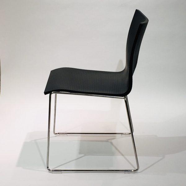 Engelbrechts Chairik 127 -tuoli, musta
