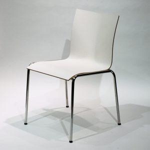 Engelbrechts Chairik XL 121 -tuoli, valkoinen