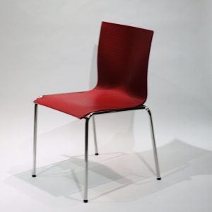 Engelbrechts Chairik XL 121 -tuoli, punainen
