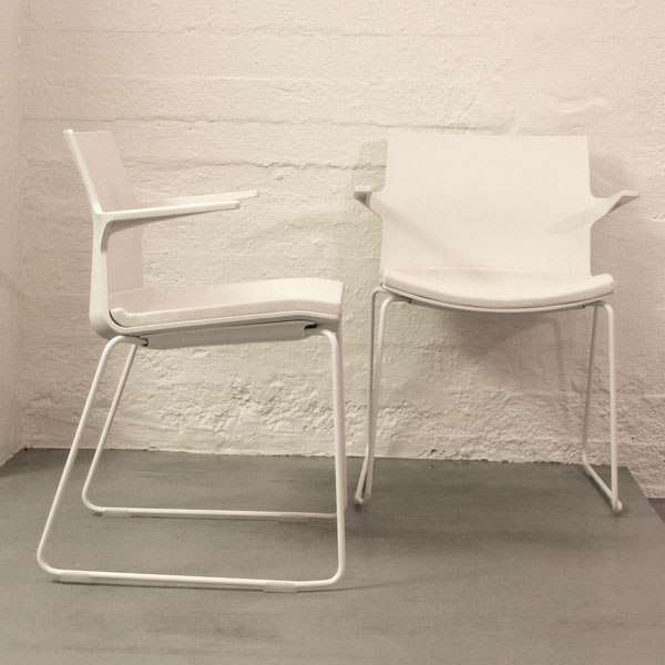 Dynamobel Trazo -tuoli, valkoinen