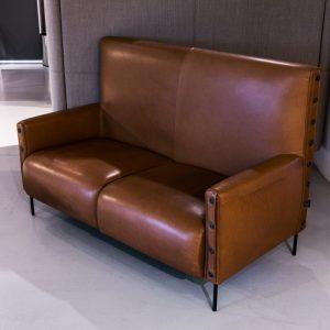 Ruskea Tacchini Highlife -sohva