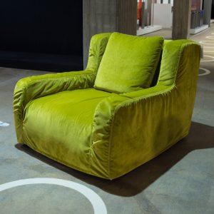 Linteloo Paola -nojatuoli, vihreä