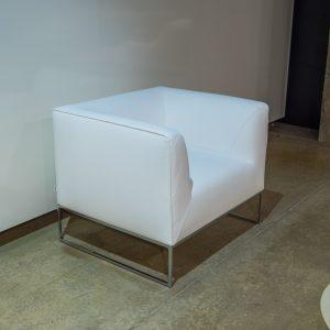 Cor Mell -nojatuoli, valkoinen
