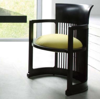 Cassina Barrel -tuoli, vaaleanvihreä