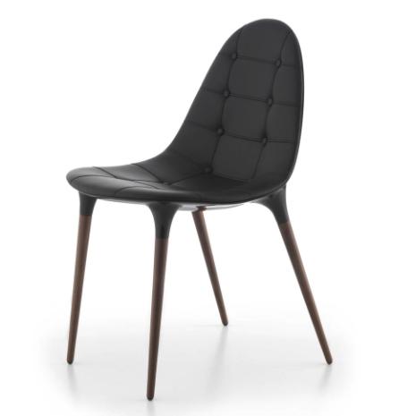 Cassina CAPRICE -tuoli, musta